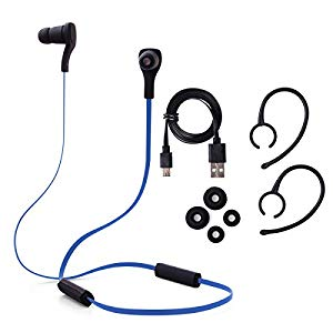 Xcsource blu sportive bluetooth stereo headphone headset for Cuffie antirumore per studiare